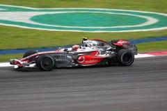 2008 f1 ο Heikki η Mercedes Στοκ φωτογραφία με δικαίωμα ελεύθερης χρήσης
