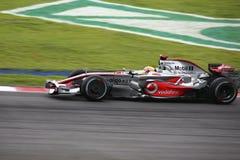 2008 f1 τα lewis του Χάμιλτον η Mercedes Στοκ εικόνα με δικαίωμα ελεύθερης χρήσης