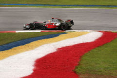 2008 f1 τα lewis του Χάμιλτον η Mercedes Στοκ Εικόνες