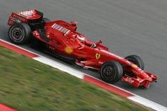 2008 f1 Ferrari kimi raikkonen Obraz Stock