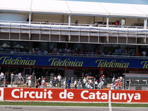 2008 F1 Grand Prix in Catalunya Royalty-vrije Stock Fotografie