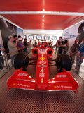 2008 F1 Grand Prix in Catalunya Stock Foto's