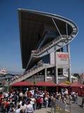 2008 F1 grande Prix in Catalunya Immagini Stock Libere da Diritti