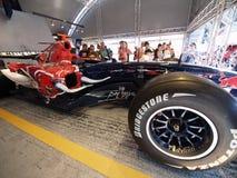 2008 F1 grande Prix in Catalunya Fotografia Stock