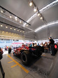 2008 F1 großartiges Prix in Catalunya Stockfotos