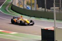 2008 f1 nelsinho piquet Renault s Singapore Fotografia Stock