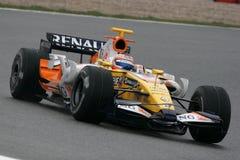 2008 f1 Nelson piquet Renault Στοκ φωτογραφίες με δικαίωμα ελεύθερης χρήσης