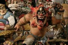 2008 fallas巴伦西亚 免版税库存图片