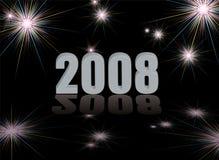 2008 fireworks Stock Image
