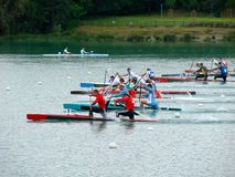 2008 Flatwater European Champi Royalty Free Stock Photo