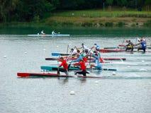 2008 Flatwater European Champi Royalty Free Stock Photo
