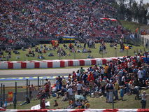 2008 Formule 1 Grand Prix in Catalunya Royalty-vrije Stock Afbeeldingen