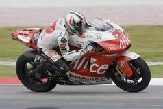 2008 Franzosen Sylvain Guintoli Alice-Team Lizenzfreie Stockfotos