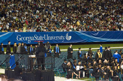 2008 georgia state graduation ceremony Royalty Free Stock Photography
