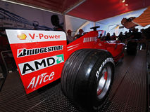 2008 Grand Prix catalunya f1 Στοκ φωτογραφίες με δικαίωμα ελεύθερης χρήσης