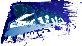 2008 Happy New Year. 3D Royalty Free Stock Images