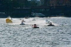 2008 het Kampioenschap van de Wereld van U.I.M.F1 Powerboat Stock Afbeelding