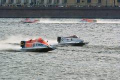 2008 het Kampioenschap van de Wereld van U.I.M.F1 Powerboat Stock Afbeeldingen
