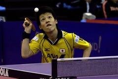 2008 het Ondergeschikte Kampioenschap van de Wereld ITTF. Stock Afbeelding