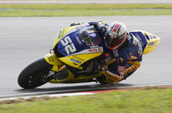 2008 Ingleses James Toseland da tecnologia 3 Yamaha Imagens de Stock
