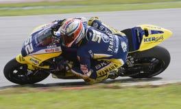 2008 Ingleses James Toseland da tecnologia 3 Yamaha Foto de Stock