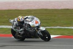 2008 Italiener Andrea Dovizioso Lizenzfreie Stockbilder