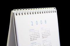 2008 kalendarz Obraz Stock