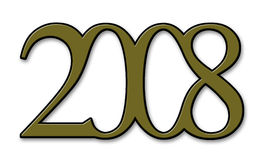 2008 lat Fotografia Royalty Free