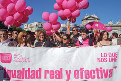 2008 Lipca homoseksualnych Madryt dum Fotografia Royalty Free