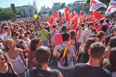 2008 Lipca homoseksualnych Madryt dum Zdjęcia Stock