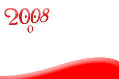 2008 that looks!. It's a 2008 character that looks for something great (your products Stock Illustration