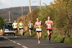 2008 Marathon des Cheddarkäse-1/2 Stockbild