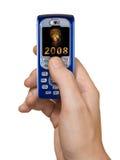 2008 mobila telefon Arkivbilder