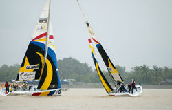 2008 Monsoon Cup in Kuala Terengganu, Malaysia. Royalty Free Stock Images