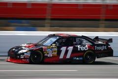 2008 NASCAR - Praktijken Hamlin in Lowes Stock Afbeeldingen