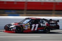 2008 NASCAR - Pratiche di Hamlin a Lowes Immagini Stock