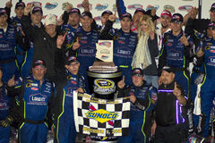 2008 NASCAR sprinten Cup-Meister Jimmie Johnson Stockfotos