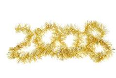 2008 Nieuwjaar Stock Foto