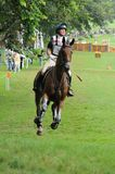 2008 Olympic Equestrian Events. Lyons Louise of Ireland participates in Eventing Cross-Country, Olympic Equestrian Events August 11, 2008 in Hong Kong, China ( Stock Image