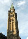 2008 Ottawa parlamentu pokoju wierza Obrazy Stock