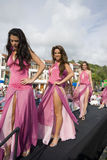 2008 panno Ecuador montanita konkursu na projekt Zdjęcia Stock