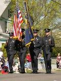 2008 parata del fiore della pera - Medford, Oregon S.U.A. Immagini Stock