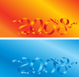 2008 pocztówka Zdjęcie Stock