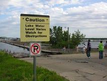 2008 powodzi Iowa Zdjęcia Stock