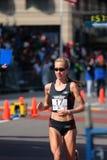 2008 Proeven van de Marathon van de Vrouwen van de V.S. de Olympische, Boston Stock Afbeelding
