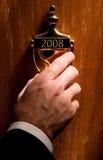 2008 prowadzić drzwiowych Zdjęcia Royalty Free