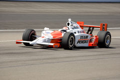 2008 Ryan Briscoe. Ryan Briscoe drives his car thru turn 4 at the Indianapolis Motor Speedway in preparation for the 2008 Indy 500