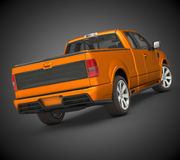2008 s331 saleen supercab Royaltyfria Foton