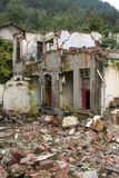2008 Sichuan earthquake. Damage in southwest China caused by the May 2008 Sichuan earthquake Stock Photos