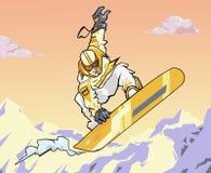 2008 snowboard Obrazy Royalty Free
